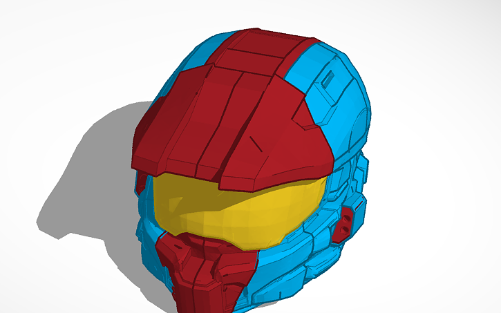 3D design Halo Helmet Mark V | Tinkercad