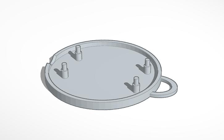 3D design ESP-12e BMP280 box | Tinkercad