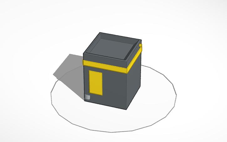 3D design kaaba   Tinkercad