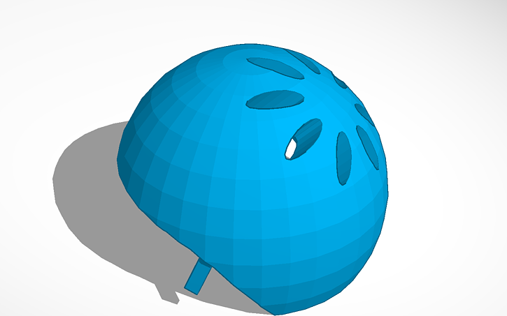 3D design Bike Helmet | Tinkercad