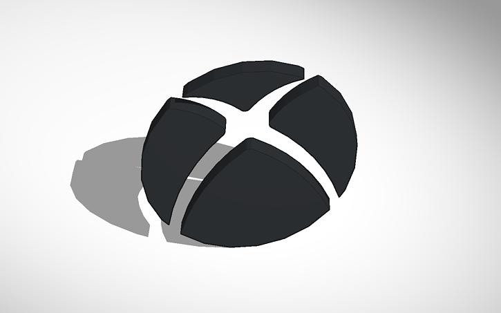 Xbox One Logo Tinkercad