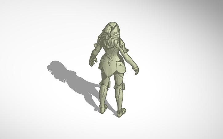 3d Design Valor Fortnite Skin Tinkercad