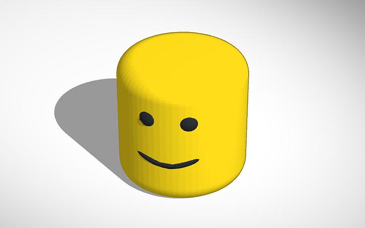 Roblox Noob Face Tinkercad