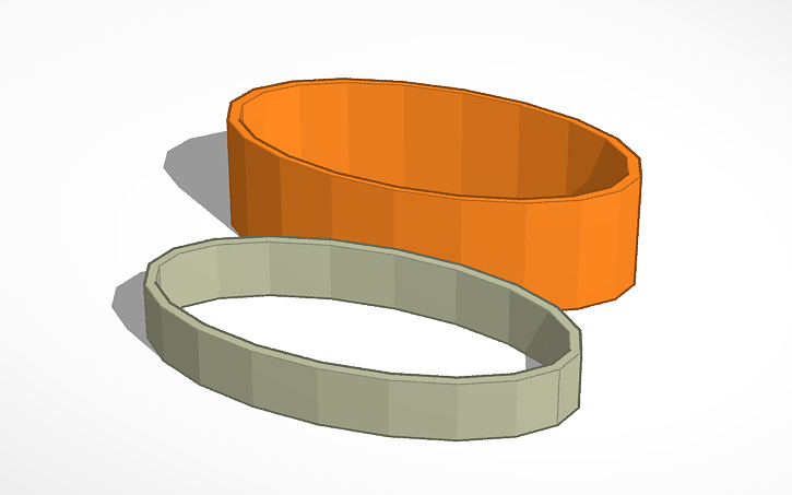 3D design Constant wall thickness via SVG offset > import