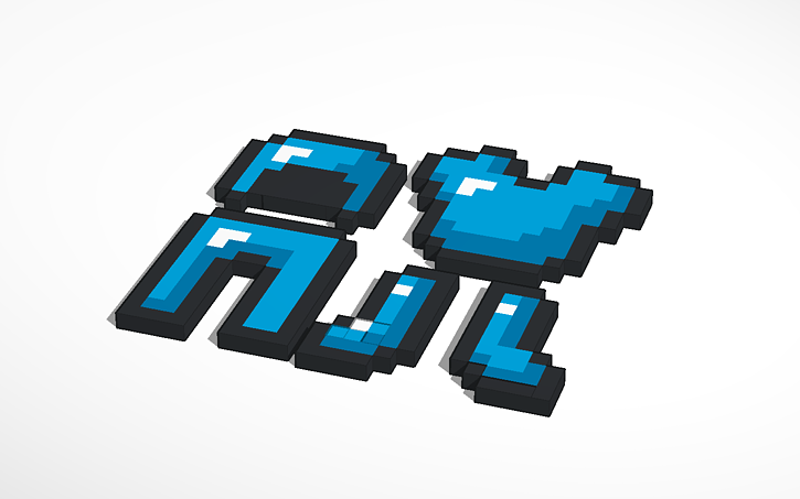 Minecraft Armor Template Print Games