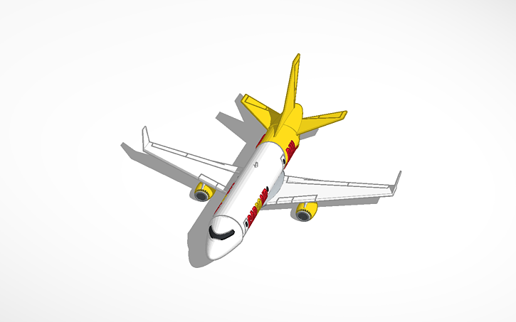 3D design Boeing 737 CarGoAir DHL | Tinkercad