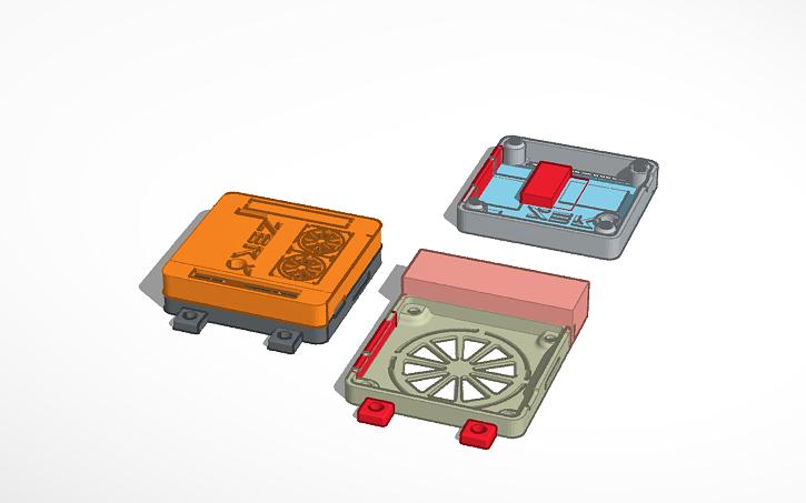 3D design [Orange Pi Zero plus 2] case | Tinkercad
