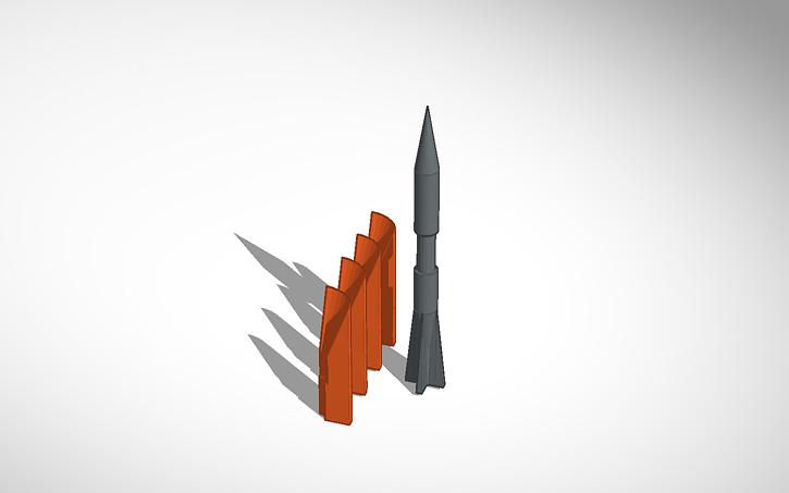 3D design Discarding Sabot Potato Gun Ammo   Tinkercad