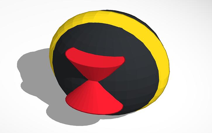 3d Design Black Widow Logo Tinkercad