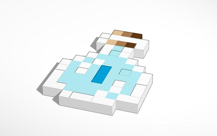 3D design Minecraft Trank-Speed | Tinkercad