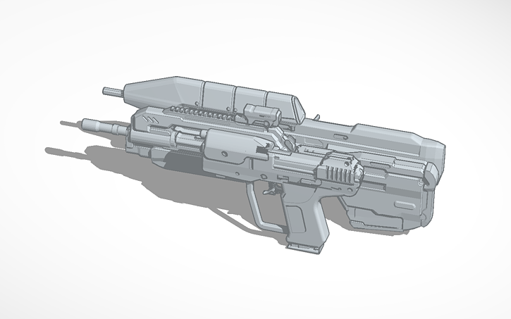 3D design Halo Weapons   Tinkercad
