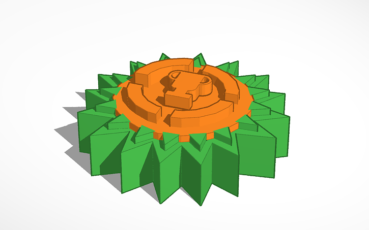 3d Design Game Theory Logo Tinkercad