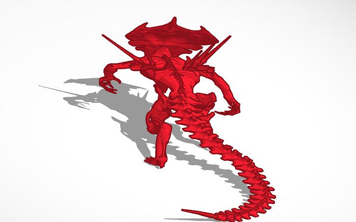 3D design mother Xenomorph Queen s | Tinkercad