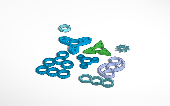 3D Design Fidget Spinners