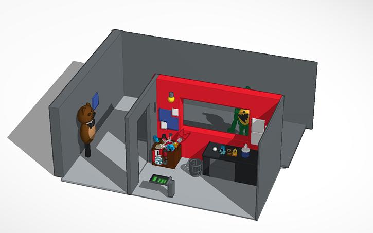 3D design FNAF 3 Office | Tinkercad