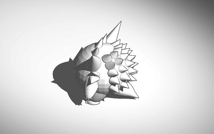 3d Design Gengar 3d Model Tinkercad