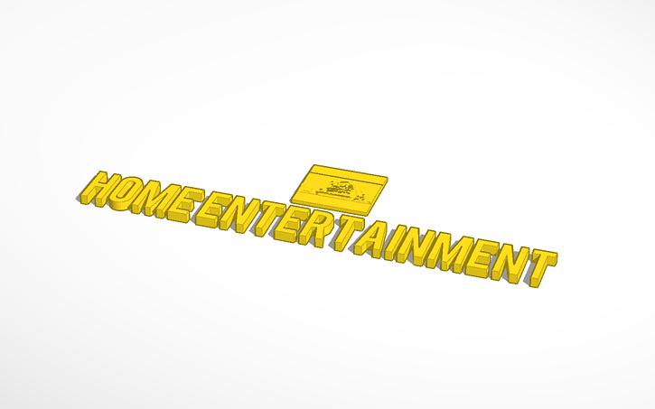 3D design 20th Century Fox Home Entertainment Logo (1668