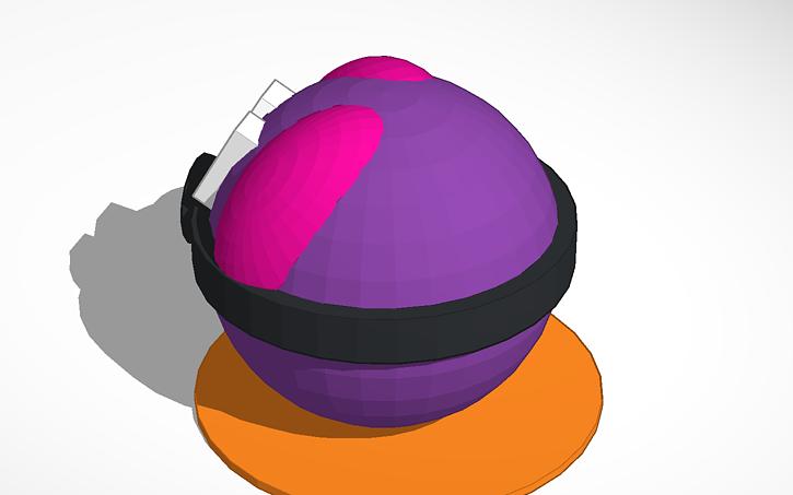 3D Design Master Ball Pokemon