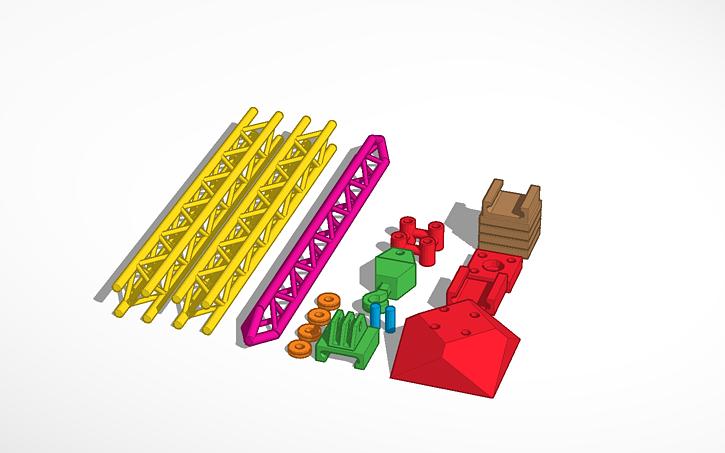 3D design Micro-Crane | Tinkercad