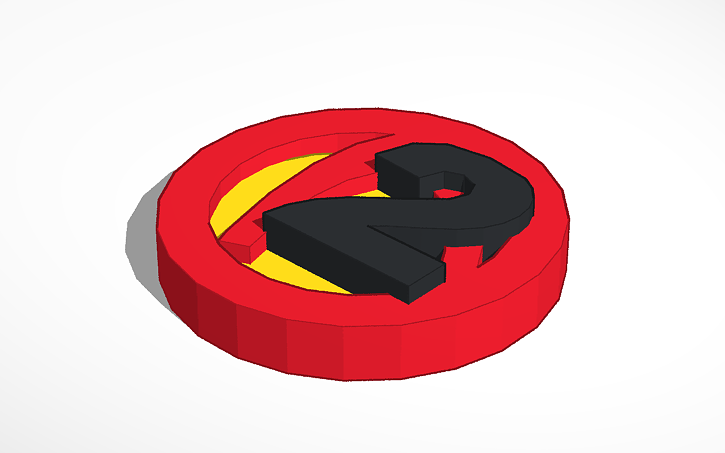 3d Design Borderlands 2 Logo Tinkercad