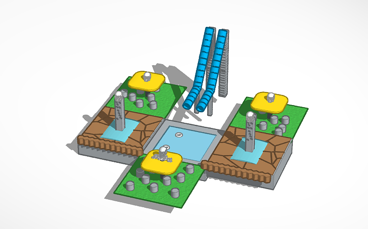 3D Design Water Park