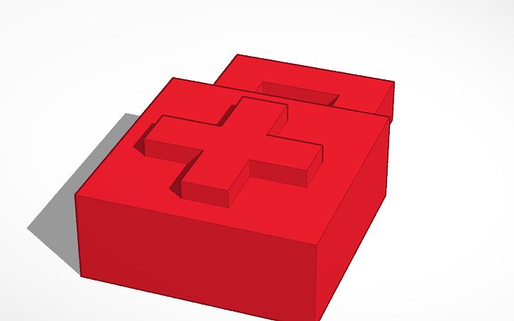 3d Design Unturned Medkit Tinkercad