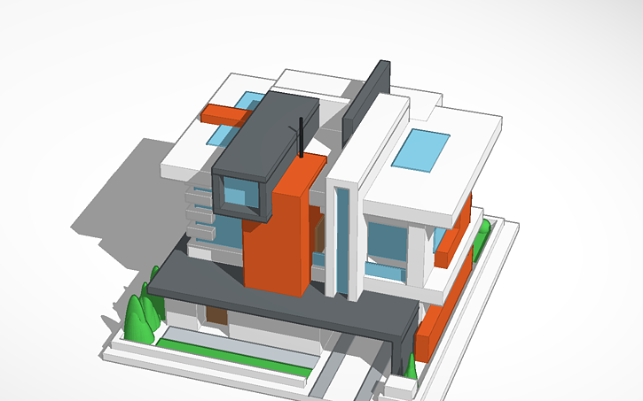 3d design modern house 6 tinkercad jpg gif or png image that is under 5mb ccuart