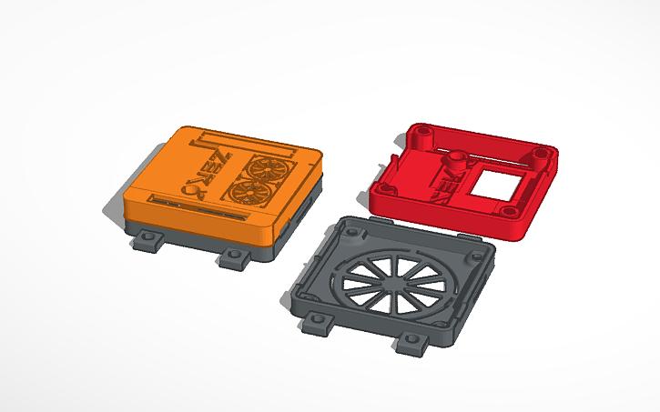 3D design Copy of Orange Pi Zero plus2 h5 - Public | Tinkercad