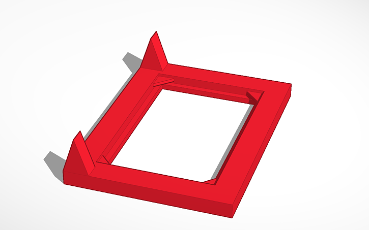 3D design Photo frame- Happy Birthday | Tinkercad