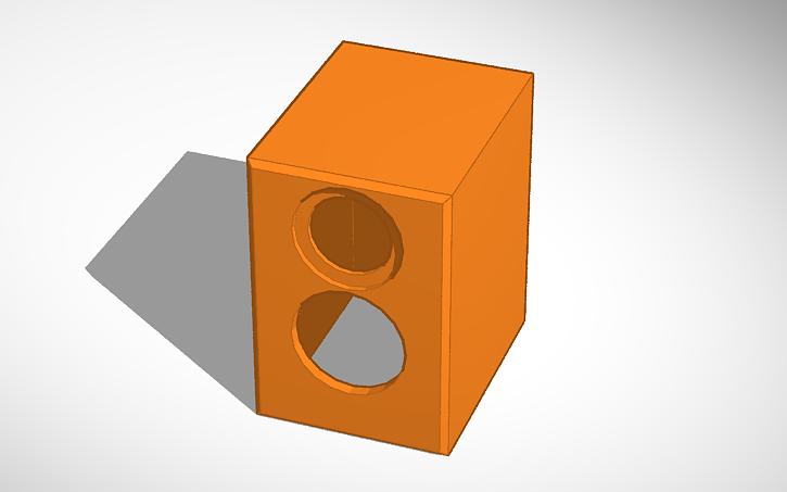 3D design C-Note Enclosure V - 4 Side Bezel | Tinkercad