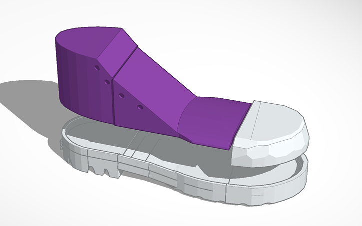 3D design Shoe sole | Tinkercad
