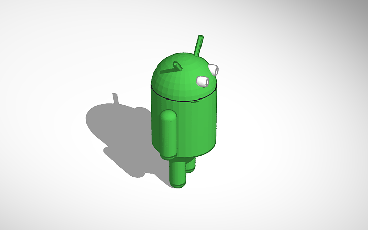 3D design Android Robot | Tinkercad