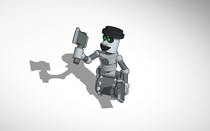 3D design Metalman FNAF World   Tinkercad
