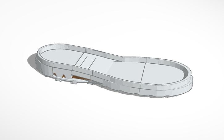 3D design Copy of Shoe sole | Tinkercad