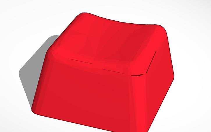 3D design Cherry MX Keycap Model | Tinkercad