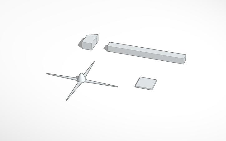 3D design Wind Turbine 3D Print | Tinkercad