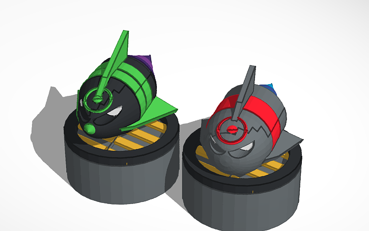 3D design Bloons Tower Defense 5 MOAB Assassin | Tinkercad