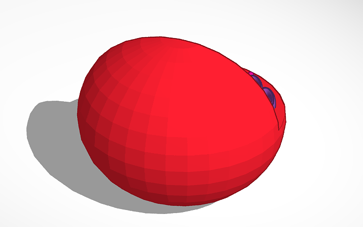 3d Design Red Blood Cell Diagram Tinkercad