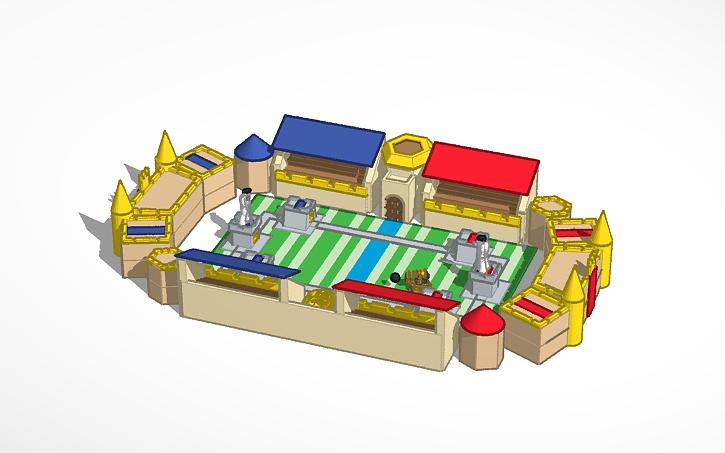 3D design pixel clash royale   Tinkercad