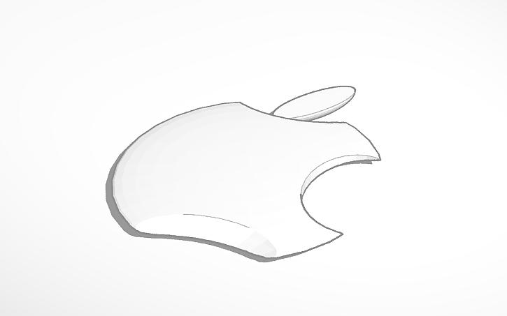 3d Design Apple Symbol Tinkercad
