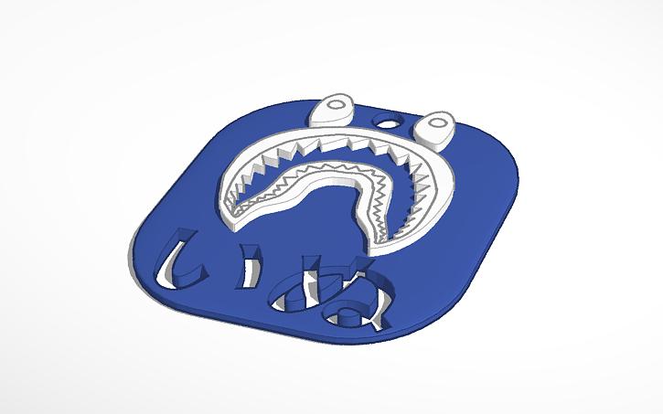 Inu Dog Bape Shark LOGO