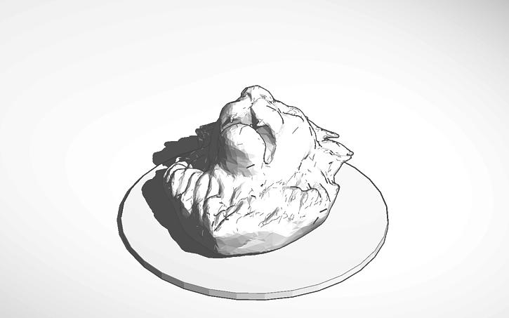3D design Lion's Head | Tinkercad