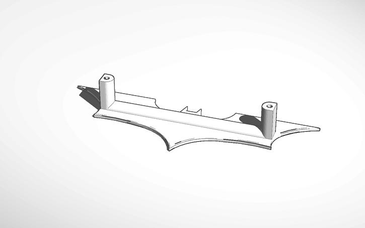 3d Design Batman Ikea Door Handle Tinkercad