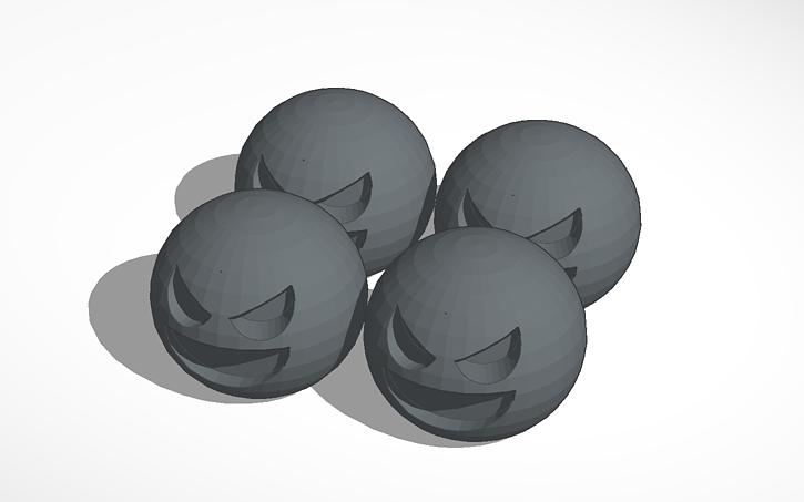 3D design Slime Rancher Tar slimes | Tinkercad