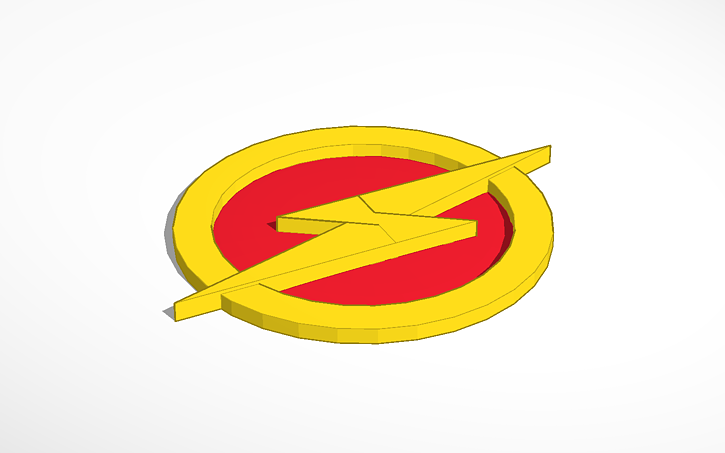 The Flash Symbol Tinkercad Actions are the key to creating. the flash symbol tinkercad