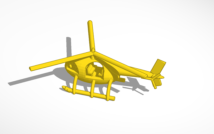 3D Design Cool Helicopter