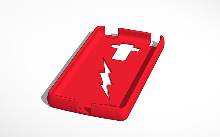 3D design Flash LG STYLO phone case | Tinkercad