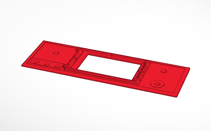 3D design uBitx Nextion | Tinkercad