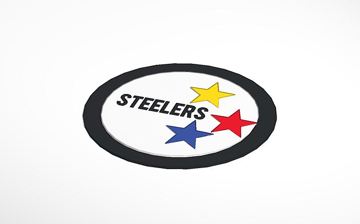 3d Design Steelers Symbol Tinkercad