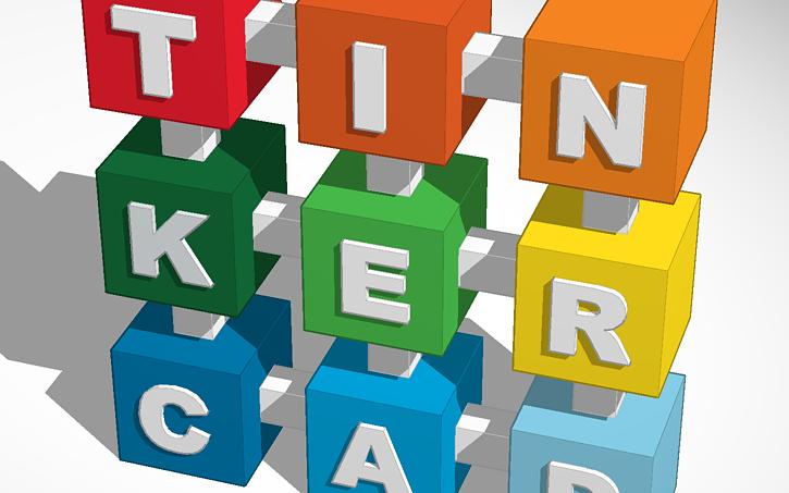 3d Design Tinkercad Logo Tinkercad